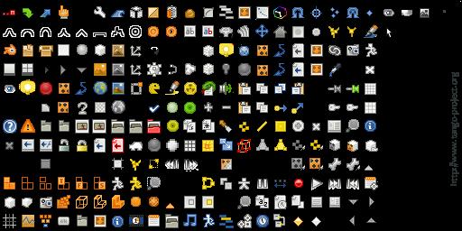 Tango icons for Blender