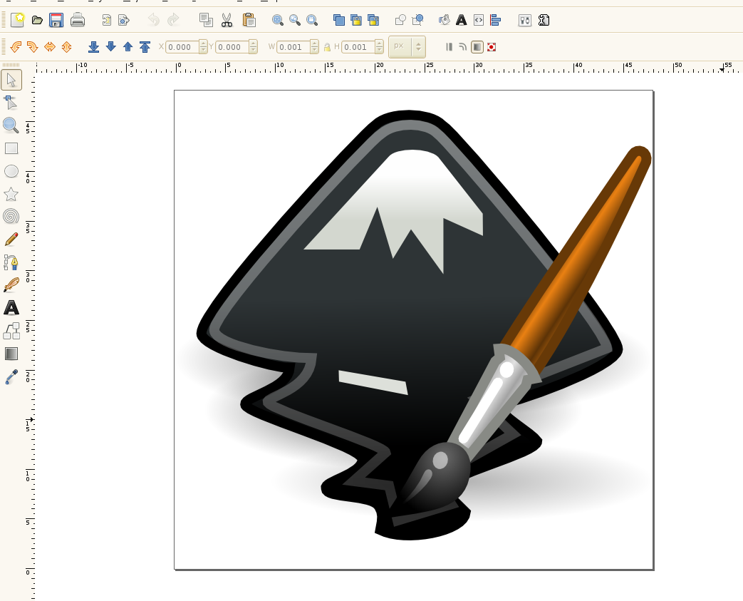 Inkscape using Tango
