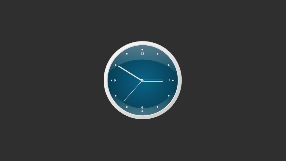 Drawing Mac look-alike clock in Inkscape