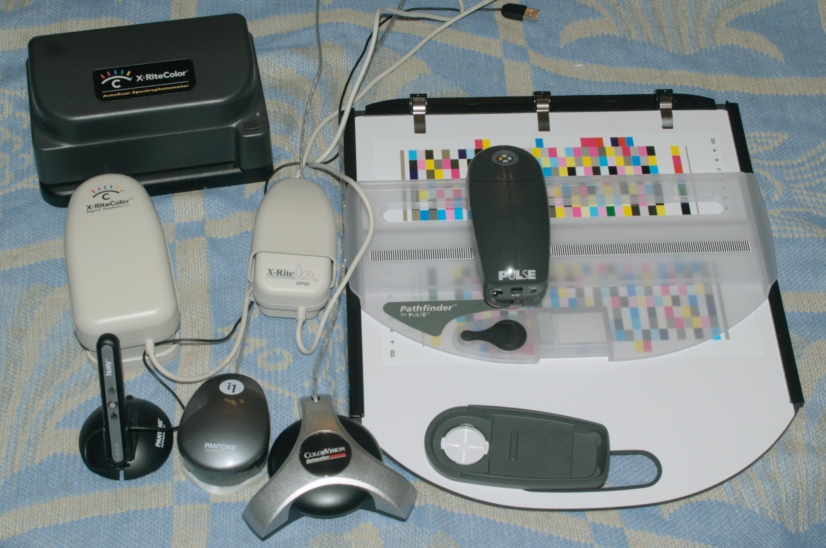 Spectrometers and colorimeters