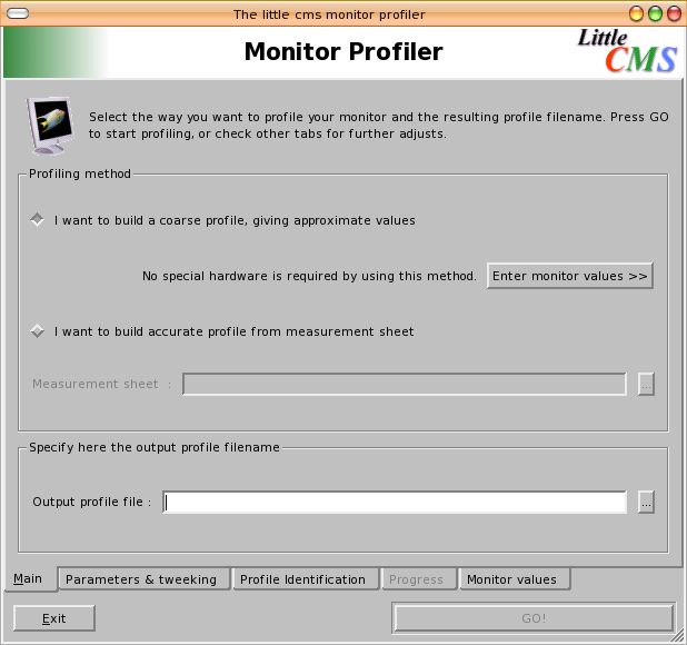 Old monitor profiler