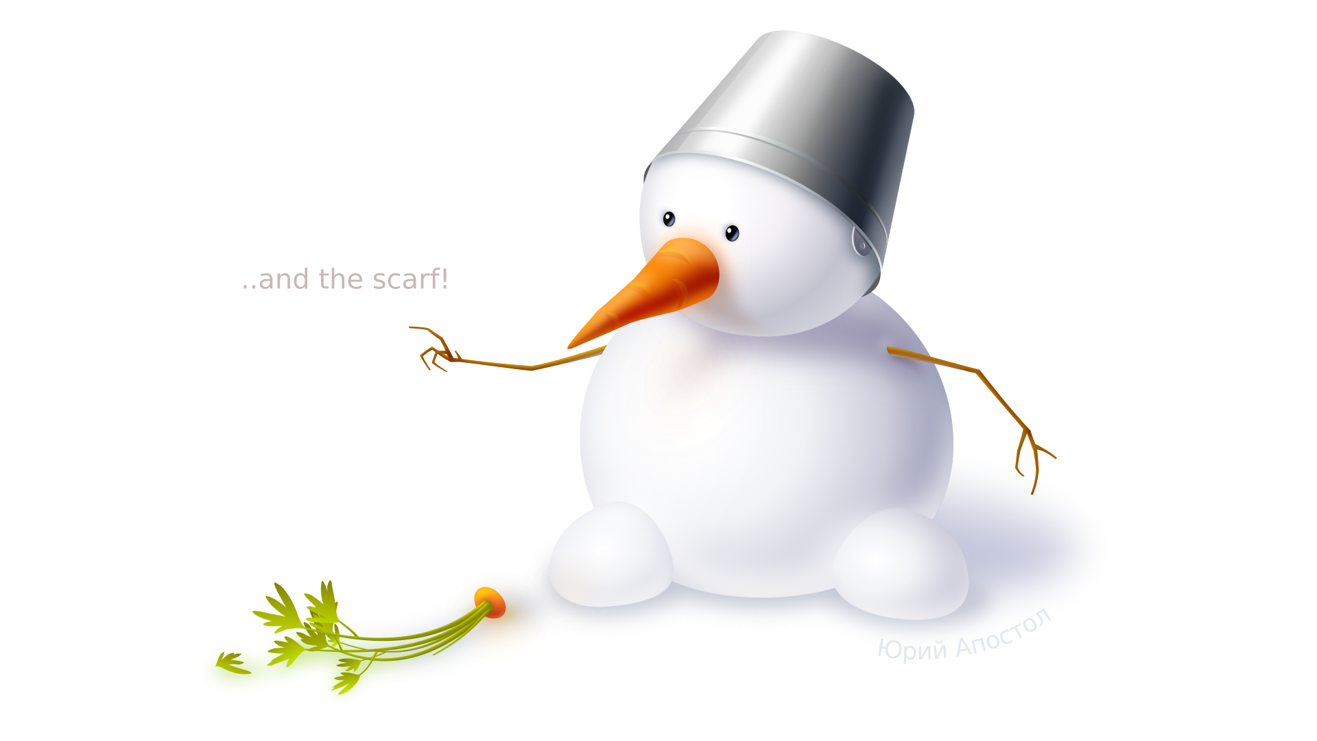 How to draw a snowman with Inkscape