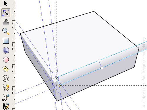 Creating a rounded corner using a gradient