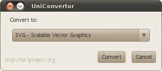 Simple conversion dialogue
