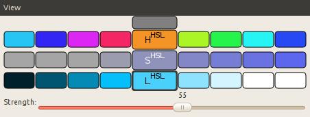 HSL based variations