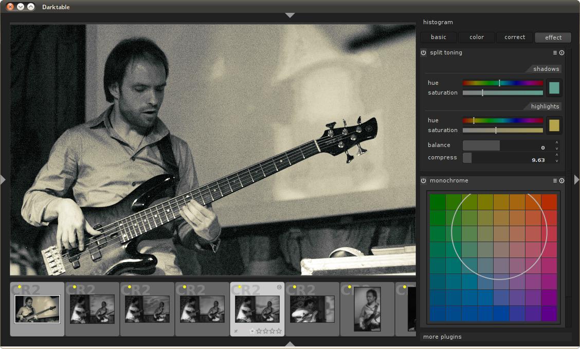 GIMP-like rendering
