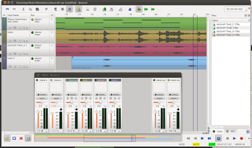 Qtractor 0.5.1