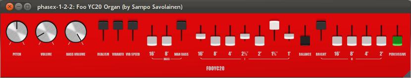 Foo YC20 organ emulator