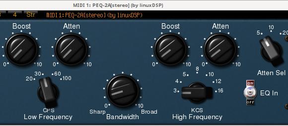linuxDSP PEQ-2A