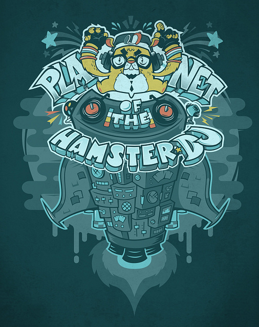 Planet of the hamster DJ