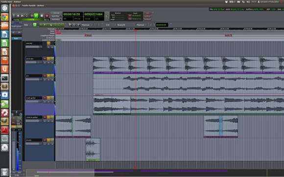 Ardour as a free DAW is quite capable