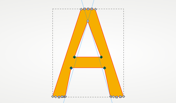 Angled guides and snapping for Inkscape beginners