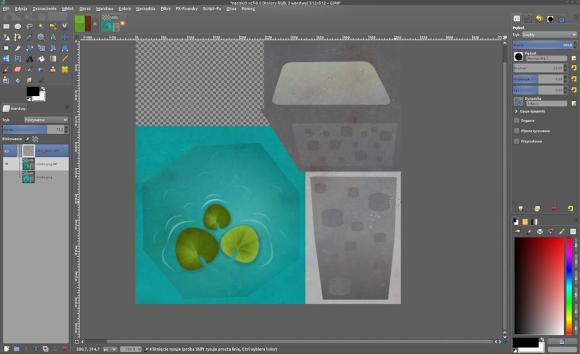 Editing sprites with GIMP