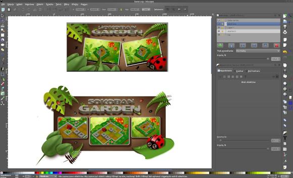 Sokoban garden prodict design