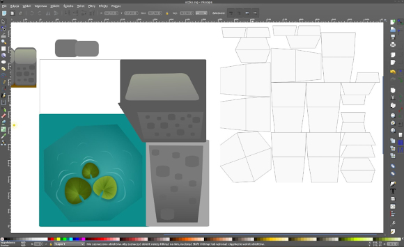 Creating sprites with Inkscape