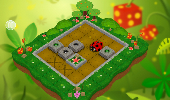 Sokoban Garden, Android game created with free/libre software