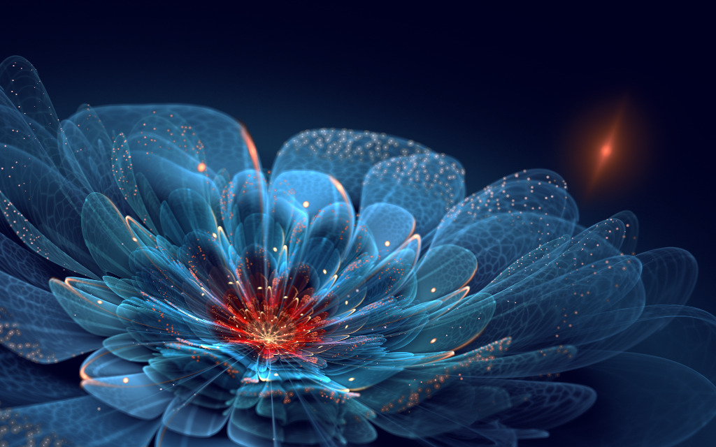 Amazing fractal garden by Silvia Cordedda