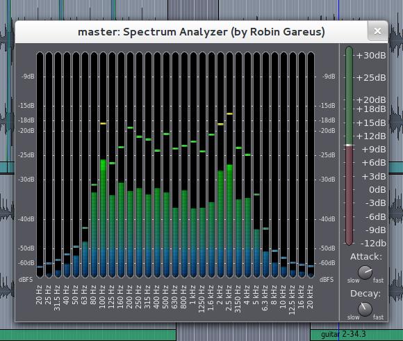 Spectrum analyzer in meters.lv2
