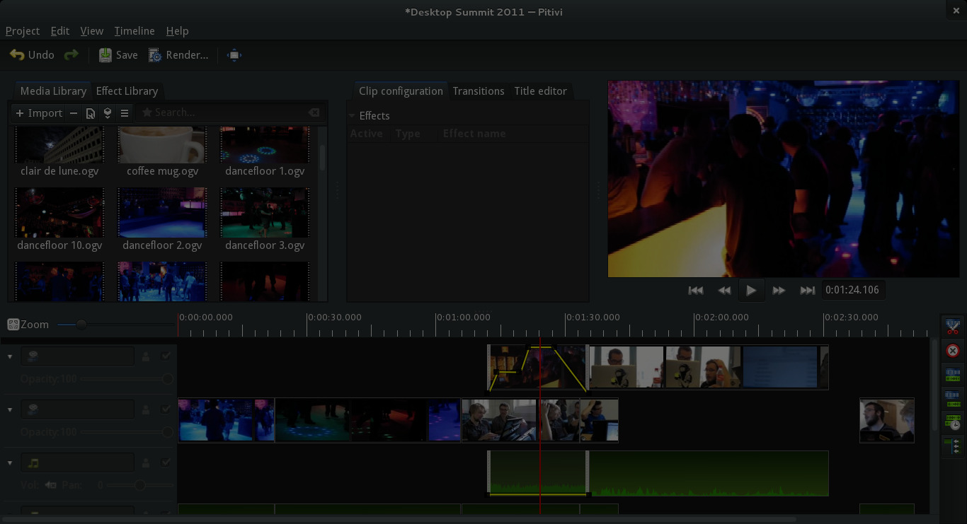 Pitivi 0.91 introduces new non-linear video editing back-end