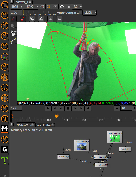 Rotoscoping in Natron