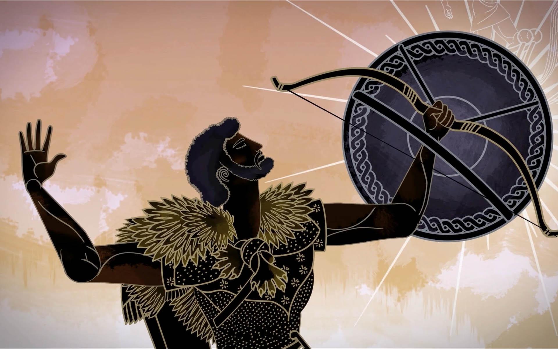 Excerpt from a short animated movie Herakles, Aux Origines De La Crau, by Les Fées Spéciales