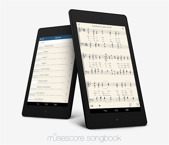 MuseScore Songbook on Android