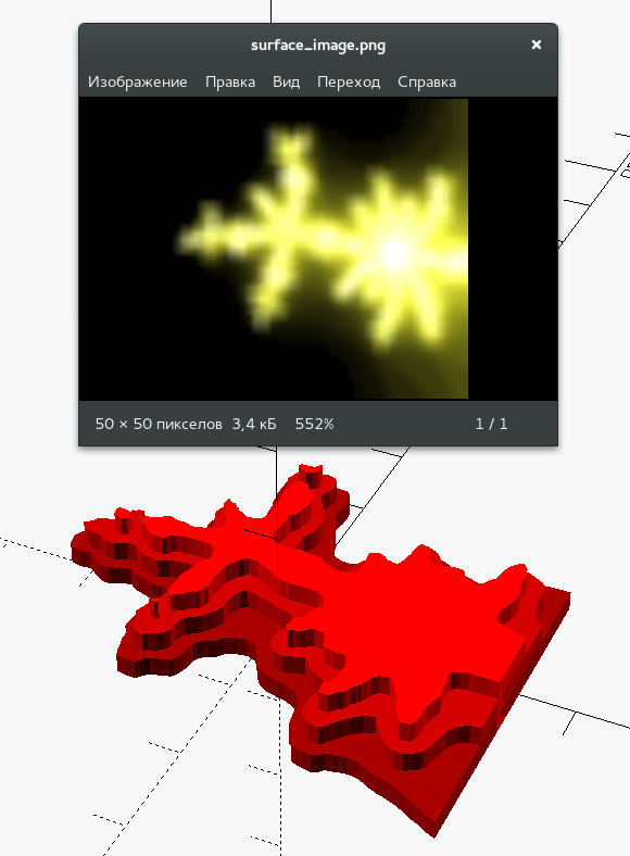 PNG as heightmap in OpenSCAD