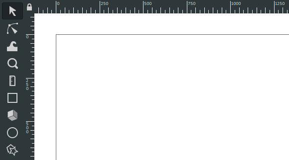 Top left coordinate origin in Inkscape