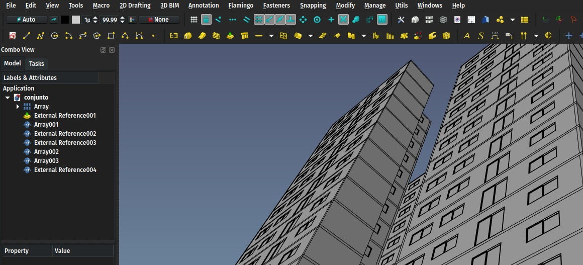 External references in FreeCAD