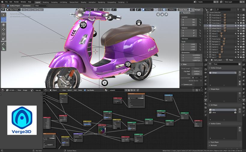 verge3D 2.9 for Blender