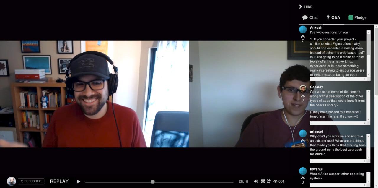 Live chat with Akira developers on Kickstarter