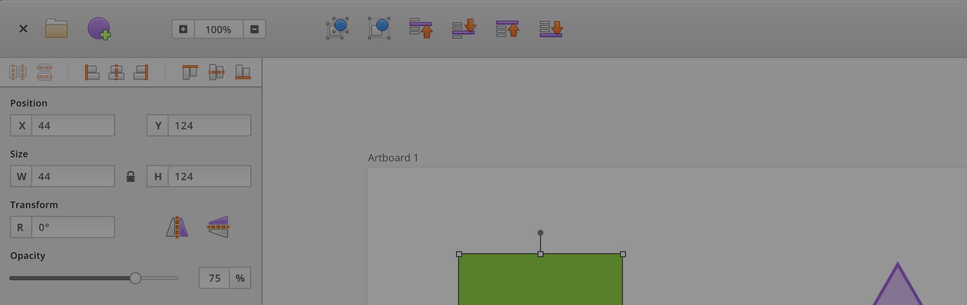 Meet Akira, free/libre interface design tool