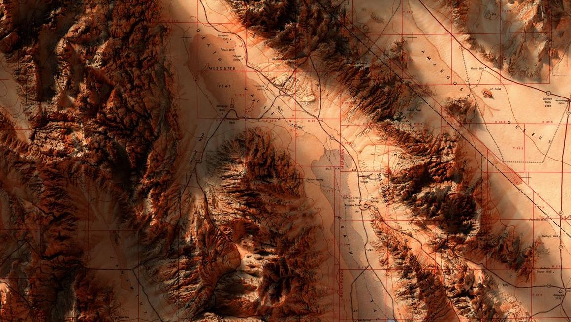 Scott Reinhard, Death Valley