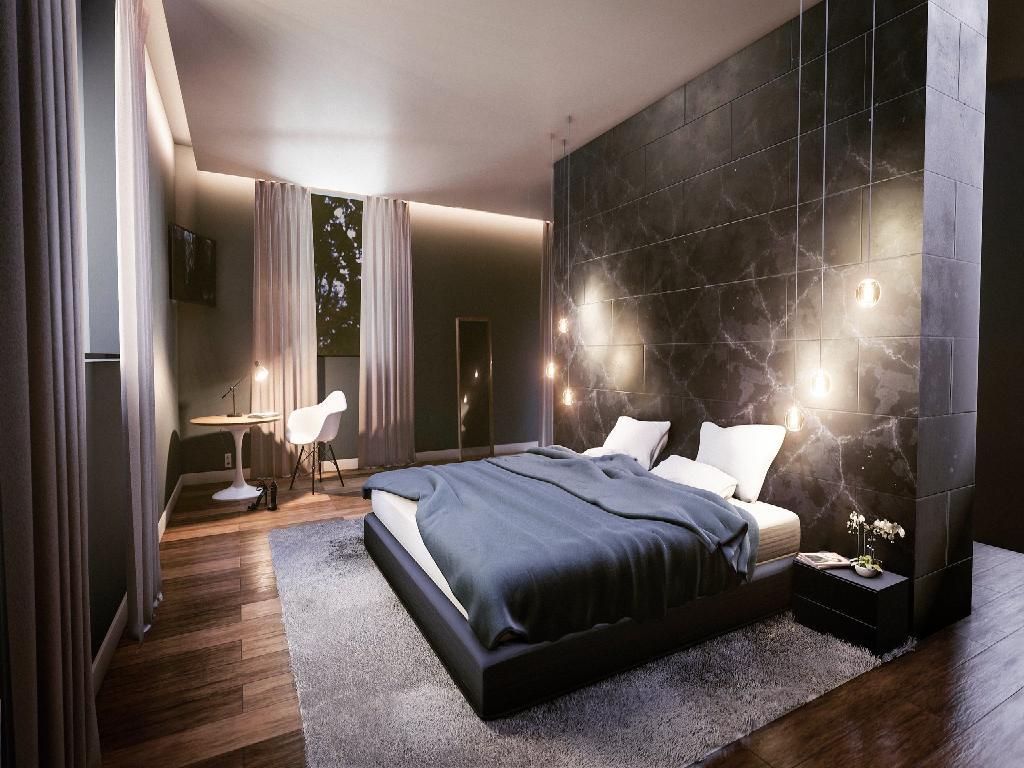 Interior design render with Eevee]