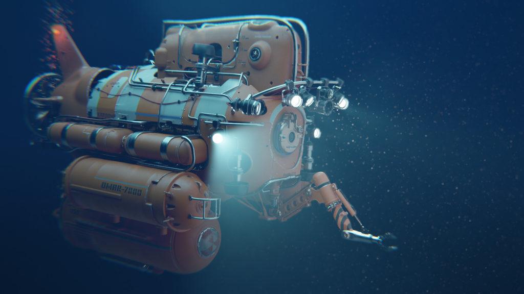 Gesy Bekeyei, Blender, Lobster submarine