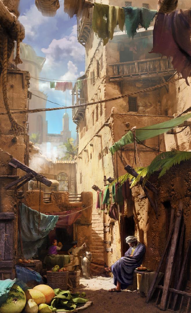 Aladdin fan art, Cycles render by SergOrc