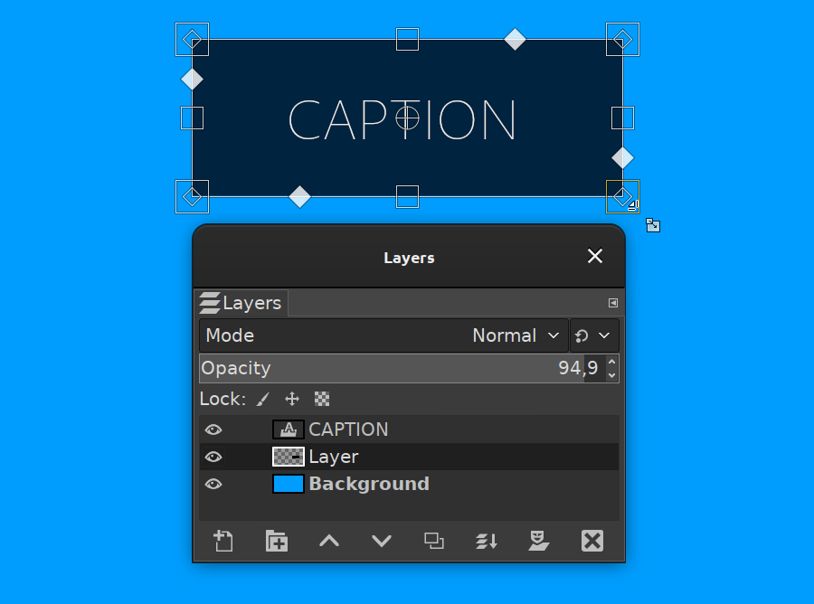 Composited preview in GIMP 2.10.18