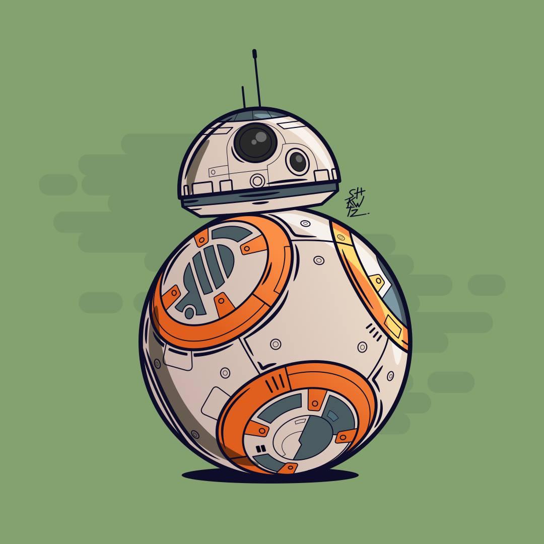 BB-8 droid by Thiago Ushkowitz