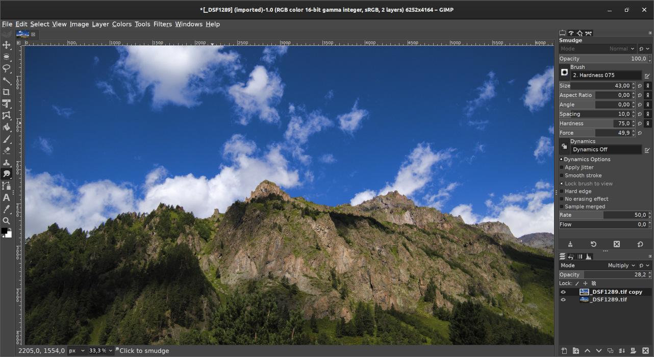 GIMP 2.10.15 new features