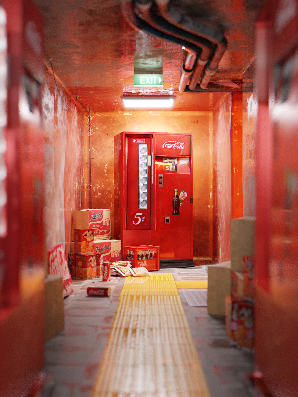 Cola Corridor, arbinsidik